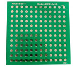 DOATED SOLDERING PRACTICE BOARD